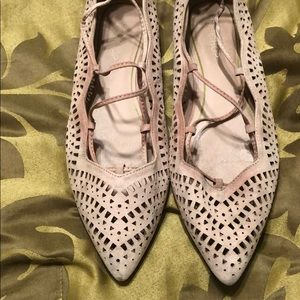 Top shop lace up flats